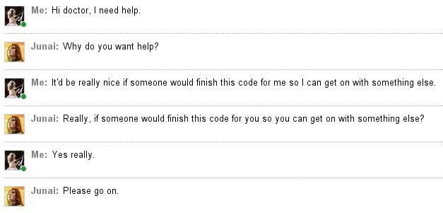 Exemple de chatbot relation client