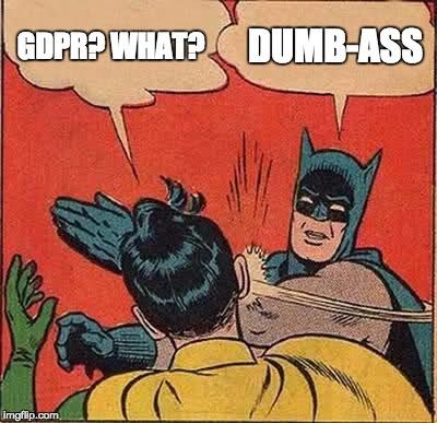 RGPD (Règlement Général pour la Protection des Données de l'Union Européenne)