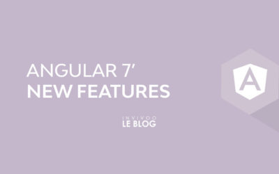 Angular 7′ New Features