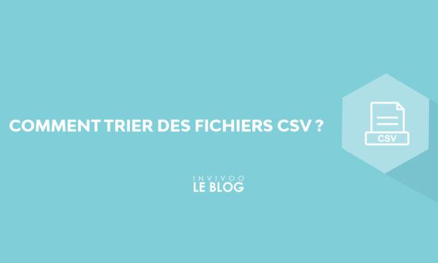 Comment trier des fichiers CSV ?