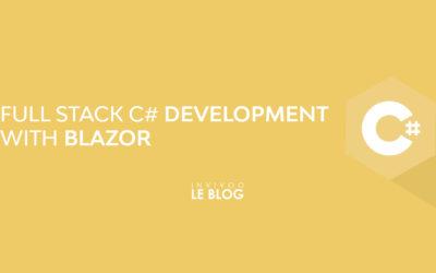 Full Stack C# Development with Blazor