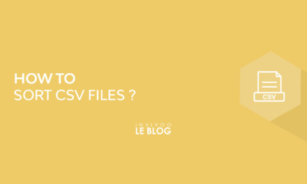 How to sort CSV files?