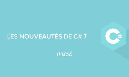 Les nouveautés de C#7 : les tuples