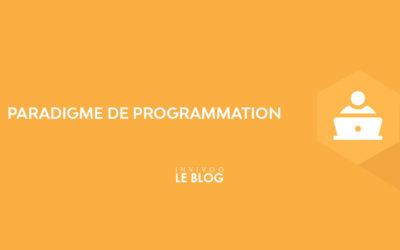 Paradigme de programmation