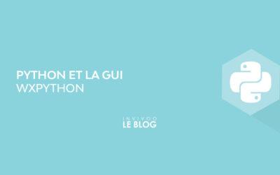 Python et le GUI : wxPython