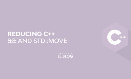 REDUCING C ++: && AND STD::MOVE