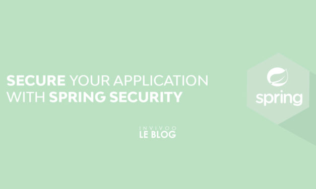 Secure your application with Spring Security