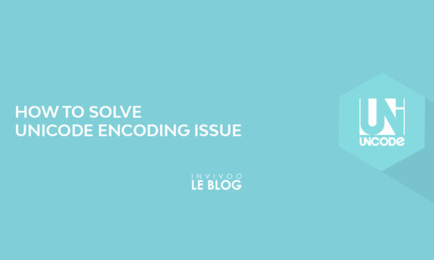 How to solve unicode encoding issues